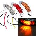 1Piece Waterproof 3LED DC12V 24V Trailer Truck Caravan AMBER LED Side Marker Light Lamp Car Side Marker Indicators Lights ~
