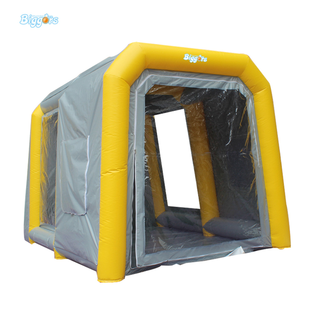 Free delivery Car-styling Car Wash Inflatable Car Paint Booth Inflatable Spray Booth with Free Blower Inflatable Tents Sale