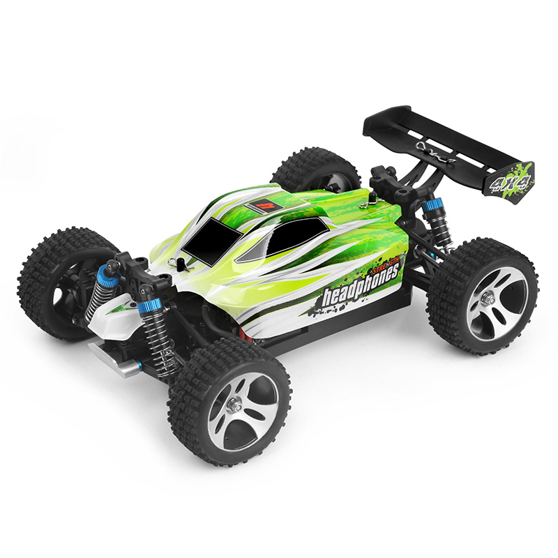 Wltoys RC Racing Car 4WD 1:18 SUV With 70km/hour A959-B Remote Control Car 2.4GHz High Speed RC Electric Car Toy Gift for Kids wltoys k969 1 28 2 4g 4wd electric rc car 30kmh rtr version high speed drift car