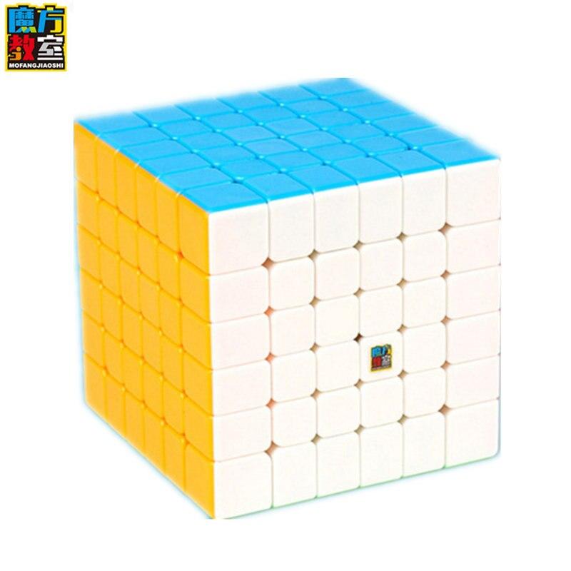 Nouvelle Arrivée de MoYu Cubage Classe 6 Couche MF6 6x6x6 Cube Noir/Stickerless MF Puzzle cube Jouets Pour Enfants Magic Cube