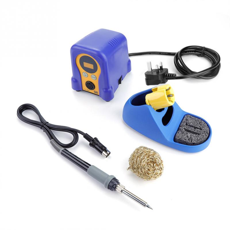 FX 888D Digital Soldering Station Electric Solder Iron LCD Display Welding Station with Welding Stand 220V