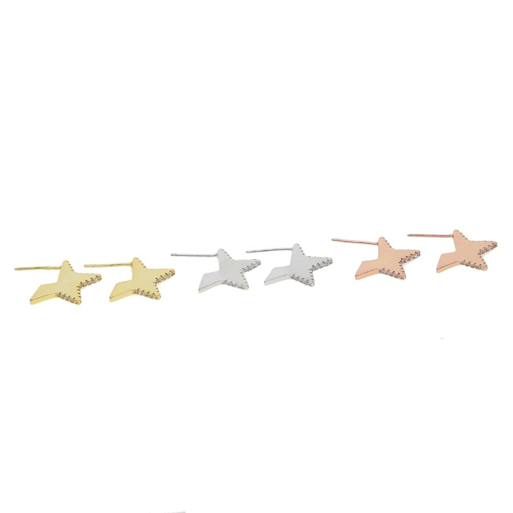 925 SILVER STAR EARRING Y (10)
