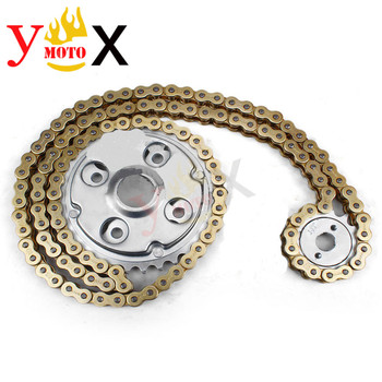 Motorcycle 14T Front & 32T Rear Sprockets Gear & DID Chain For Honda Rebel CMX250 CA250 1996-2011 CMX250C 2003-2011