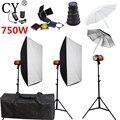 CY софтбокс для фотостудии набор для фотовспышки 750 Вт стойка софтбокса набор аксессуары для фотостудии Godox Smart 250SDI