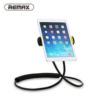 Remax Lazy Holder Rotation Flexible Phone Holder 360 Degree Flexible Neck Hanging With Shcokproof Bubble For