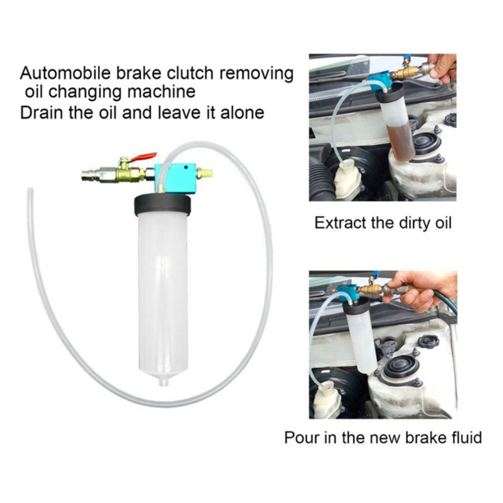 Hand-Tool Oil-Bleeder Car-Brake-Fluid Universal Oil-Change-Replacement-Tool Auto Empty-Drain-Kit title=