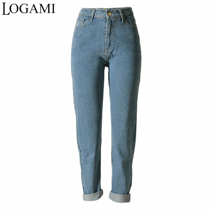 boyfriend jeans for women high waist straight jeans femme. Black Bedroom Furniture Sets. Home Design Ideas