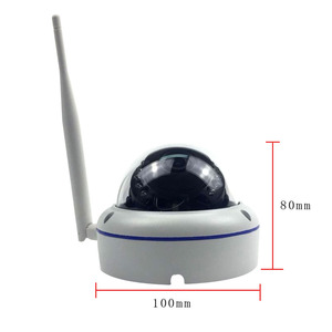 Image 2 - Wifi IP Outdoor Dome Security Camera Wireless 720P 1080P SONY CMOS Onvif SD Card Slot 64G P2P IR Cut CCTV Home Security Camera