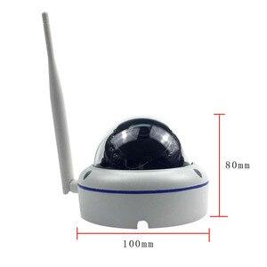 Image 2 - Wifi IP kopuła na zewnątrz kamera ochrony bezprzewodowej 720P 1080P SONY CMOS Onvif gniazdo kart sd 64G P2P IR Cut CCTV kamera ochrony domu