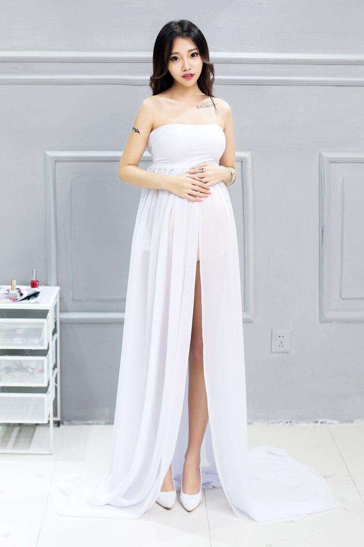 Mutterschaft Fotografie Requisiten Elegante Schwangerschaft Kleidung ...