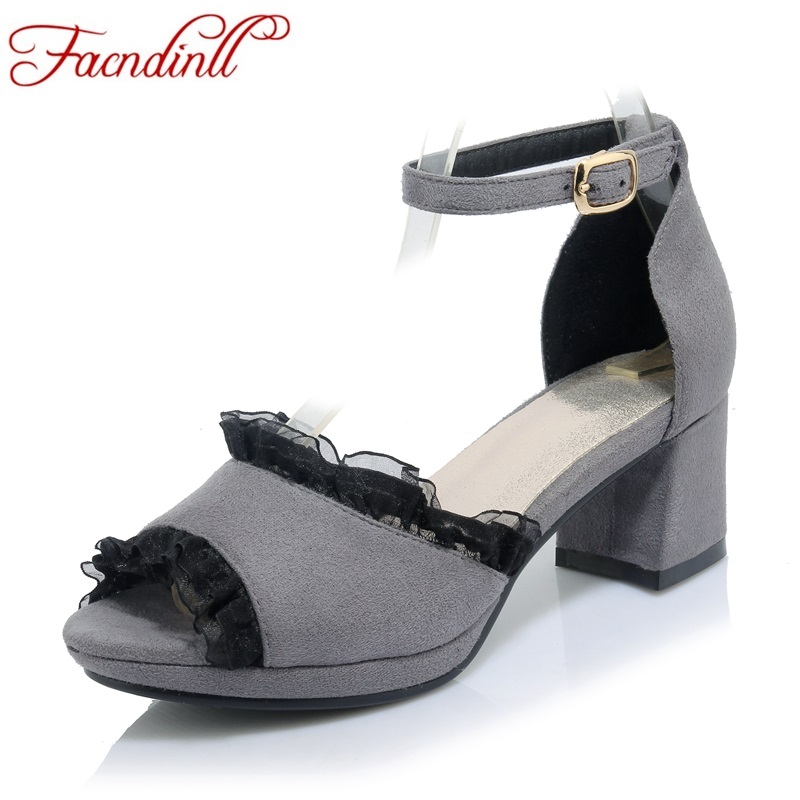 ФОТО new sexy open toe women dress party casual shoes ankle strap gladiator women sandals high heels black sweet shoes woman sandals