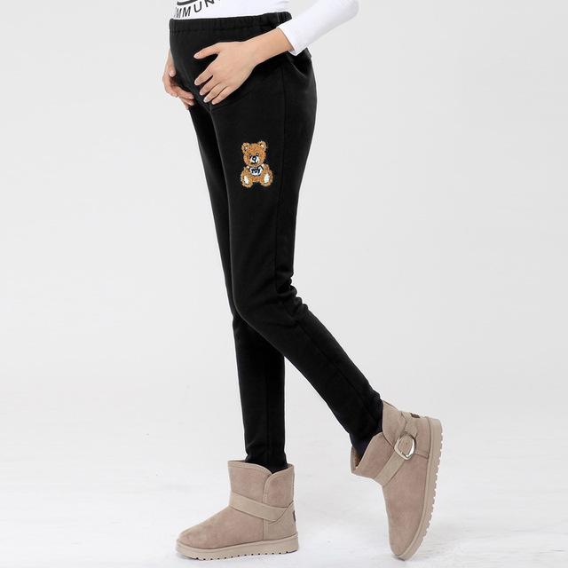 A Nova Maternidade Mulheres Grávidas Calças Leggings Mulheres Grávidas Importo Calças Barriga Solta Moda Leggings Mais Calças de Algodão