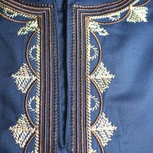 Image 5 - Ropa africana para hombre, ropa musulmana bordada, ropa Africana dashiki, novedad de 2019