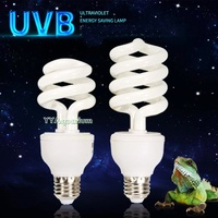10.0 UVB ULTRAVIOLET HEATING LIGHT BULB FOR REPTILE LIZARD SPIDER SNAKE TORTOISE PLANTS AQUARIUM ENERGY SAVING LAMP 13W E27
