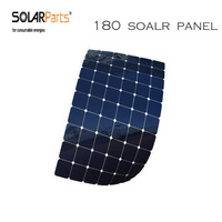 Solarparts 2pcs 180W Flexible Solar Panel With High Efficiency Solar Cell Solar Module Charging For 12V