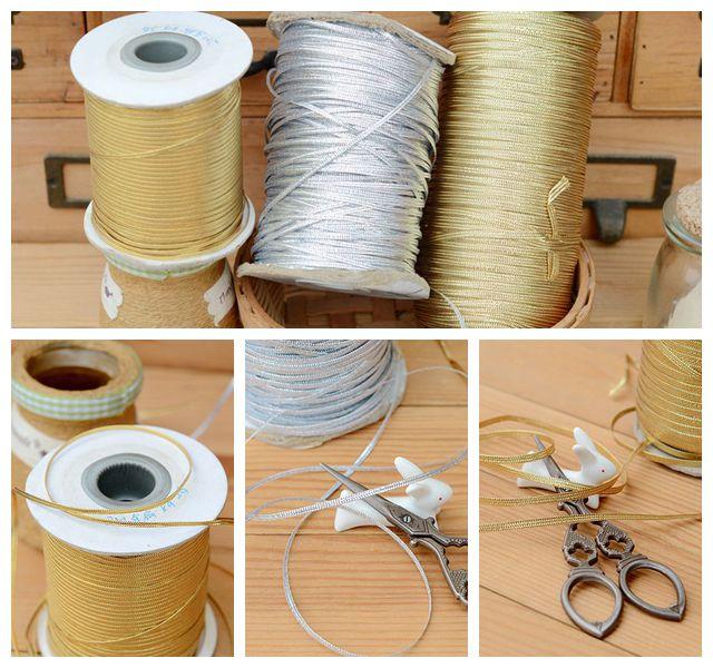 2018 hot sale Baby dress lace mini gold silver flat ribbon lace 0.2CM H0205