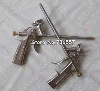 2 szt Wysokiej jakości przenośny profesjonalny PU rozszerzający pistolet do piany w całości z metalu tanie i dobre opinie Caulking Gun