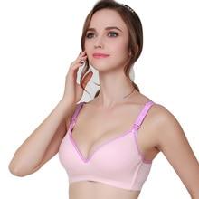 Maternity Nursing Bra Cotton Sleep Open Buckle Bras For Mothers Feeding Sexy Pregnant Women Clothes Breastfeeding Underwear