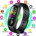 2019 New Women Sport Smartwatch Blood Pressure Heart Rate Monitor Smart Watch Men Fitness Tracker Pedometer Watch M3