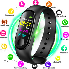 2019 New Women Sport Waterproof Smartwatch Blood Pressure Heart Rate Monitor Smart Watch Men Fitness Tracker Pedometer Watch M3