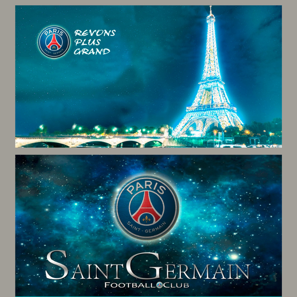 free shipping paris saint germain team logo towel beach towel soccer towel serviette de plage. Black Bedroom Furniture Sets. Home Design Ideas