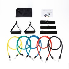 Natural Latex Belt Resistance Band Stretch Bands Straps Accessories Elastic Gym Yoga Fitness Training Equipment Wholesale