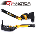 GT Motor - F-35 T-333 Adjustable CNC 3D Extendable Folding Brake Clutch Levers For TRIUMPH DAYTONA 675 SPEED TRIPLE 675 STREET