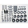 * Комплект колесных дисков и ободов 2 * детали для просвечивания «сделай сам», совместимы с конструкторами Lego