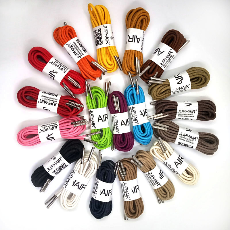 1 12 Pairs Beeige lace shoelaces sznurowadla fitroundled shoe rope shoes woman off white chaussures femme laces lacci agujetas in Shoelaces from Shoes
