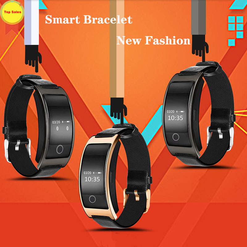 Smart Band Blood Pressure Heart Rate Monitor Smart Pulsera Color Screen reloj inteligente watch band For IOS Android xiaomi vivo in Smart Wristbands from Consumer Electronics