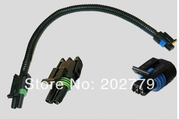 longyue 20pcs 86-92 tpi camaro firebird corvette intake air temp sensor wiring  harness 30cm wire