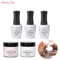 28g Bottle No Primer No UV Light Needed Dipping Powder System Pre Bonded Nail Prep For