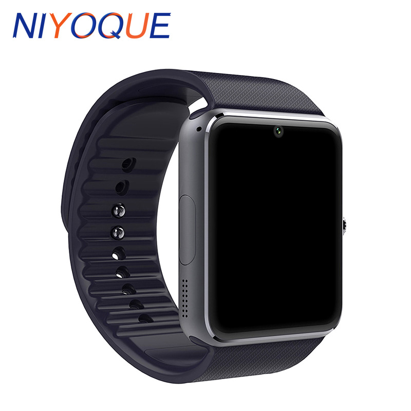 NIYOQUE GT08 Smart Watch Support GSM TF card  Watch Phone Anti Lost for Android IOS Phone Smartwatch PK DZ09 U8 Wearable Devices zaoyiexport bluetooth 4 0 smart watch u10 support camera anti lost smartwatch for iphone xiaomi sumsung android pk u8 gt08 dz09