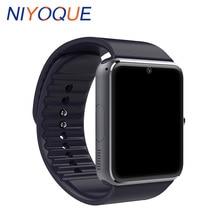 Niyoque GT08 Смарт-часы Поддержка gsm TF карты часы телефон анти потерял для Android IOS Телефон SmartWatch PK DZ09 U8 Беспроводные устройства