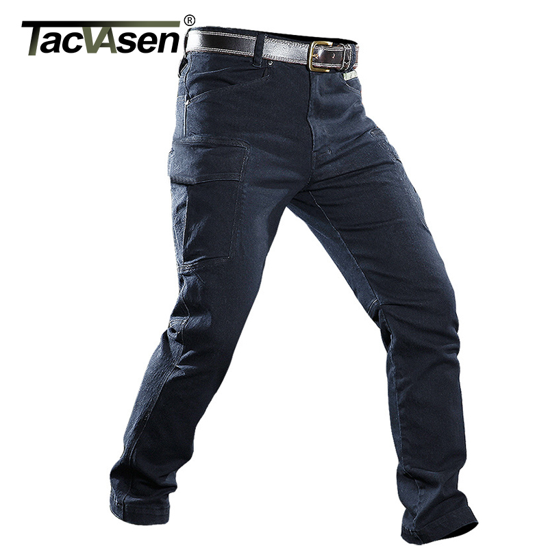 Military Straight Slim Casual Stretch Paintball Pants