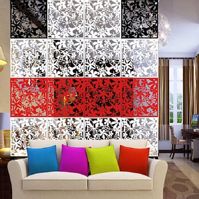 4pcslot hanging room divider decorative partition walls traditional chinese style cutout screen decorative room dividers