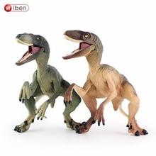 Wiben Jurassic Velociraptor Dinosaur Action & Toy Figures Animal Model Collection Learning & Educational Kids Birthday Boy Gift