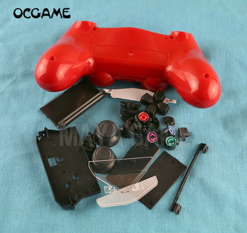 OCGAME Wireless Controller Case Housing Shell For PS4 console accessories With full Buttons replacements 8sets/lot