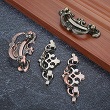 Antique Brass Bronze Jewelry Box Drawer Cabinet Cupboard Handle Pull Knob Handles For Furniture Hardware стоимость