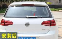 ABS Chrome Rear Window Wiper Covers Trims For Volkswagen VW Golf 7 2013 2014 Hatchback