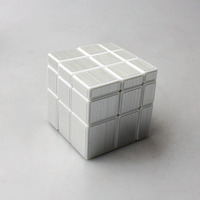 ShengShou Magic Cube 3x3x3 Mirror Blocks Bump Twisty Puzzle Ultra Smooth Puzzle Toys Best Gift Stress