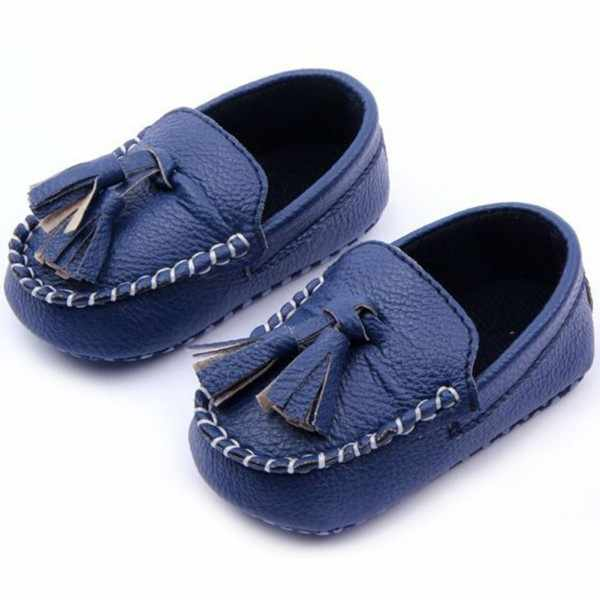 5a8b2bad367 ... Fashion Baby Toddler Girls Boys Loafers Soft Faux Leather Flat Slip-on Crib  Shoes 0 ...