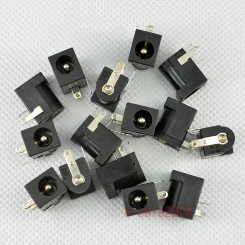 wholesale 500pcs DC Power Supply Female Jack Socket 5.5 x 2.5mm Barrel-Type PCB Mount New 500pcs 5pin 2 5mm x 0 7mm dc notebook socket female cctv charger power plug diy