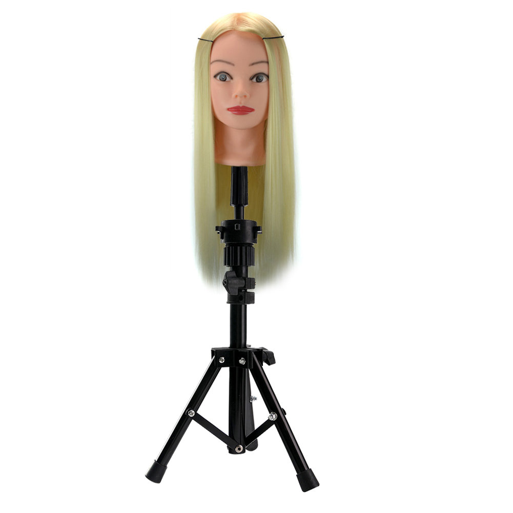 Hair Extensions & Wigs Professional Sale Headform Stent Prosthesis Doll Head Holder Brackets Wig Hair Model Head Tripod Bracket @me88