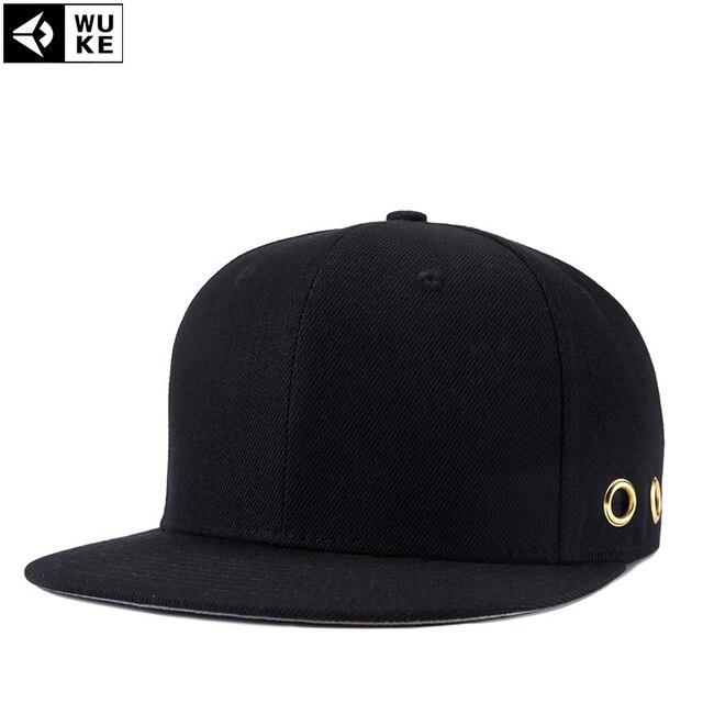 High Quality Black Flat Along Caps Street Cap Men Snapback Caps Basketball  Adjustable Sports Snapbacks For Adult 1bd516783d3