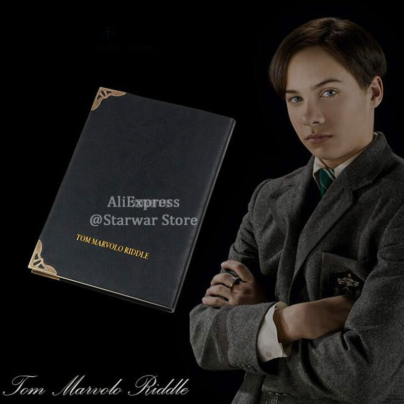 Tom Riddle Diary Lord Voldemort Horcrux Wizard Ron Wizard Students Kids Birthday Gift Collection