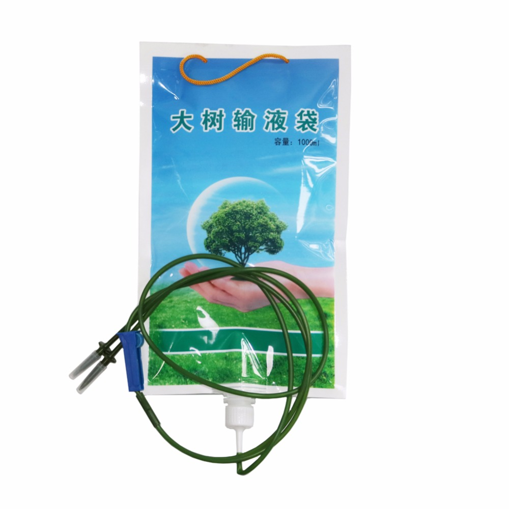 Spot 1000ml Tree Infusion kits Plant transplant Duct infusion tube bags for home garden or gardening Irrigation System