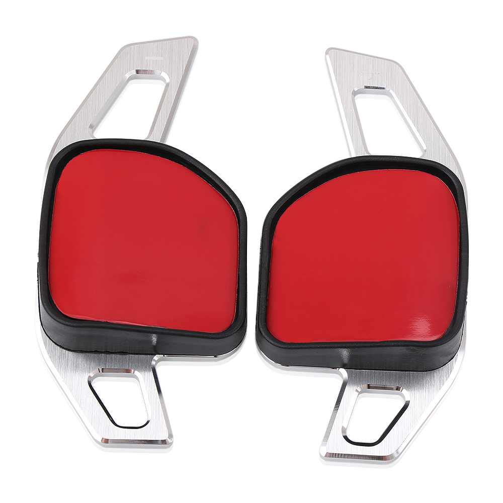 Image 4 - Car Steering Wheel DSG Paddle Extension Shifters Shift Sticker Decoration Fit For Seat Alhambra /Ateca /Leon FR/ Leon /Leon 4 5F-in Car Stickers from Automobiles & Motorcycles