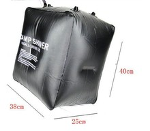 Hot !40L Camping Solar heat Camp Shower Bag Outdoor Solar Shower Water bag Free Shipping