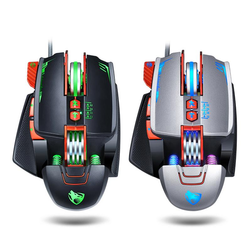 Mecánica de ratón de juego portátil General Competitivo Playerunknown batalla de retroceso del ratón